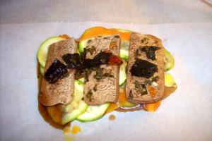 tofu papilote2 - Receta de tofu macerado en papillote
