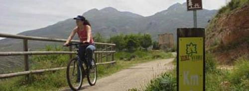 via verde - Volver al pueblo por vacaciones