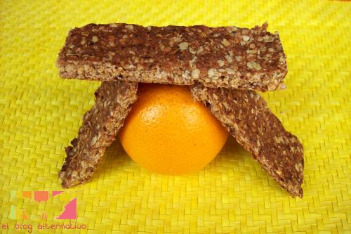barritas-de naranja dátiles y avena