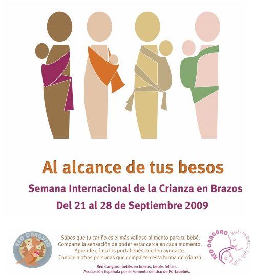 crianza brazos - Semana Internacional de la Crianza en Brazos del 21 al 28 de septiembre 2009