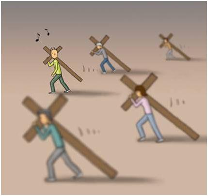 cruz10 - ¿Cómo llevas las cruces de la vida?