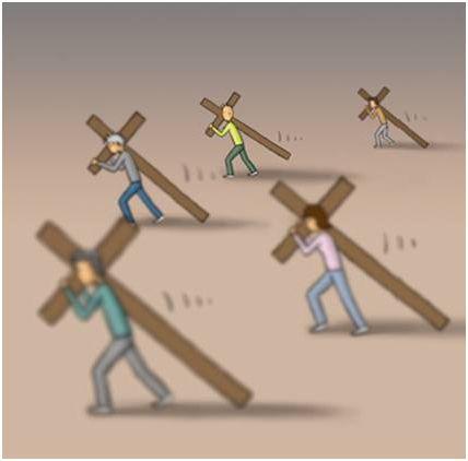 cruz6 - ¿Cómo llevas las cruces de la vida?