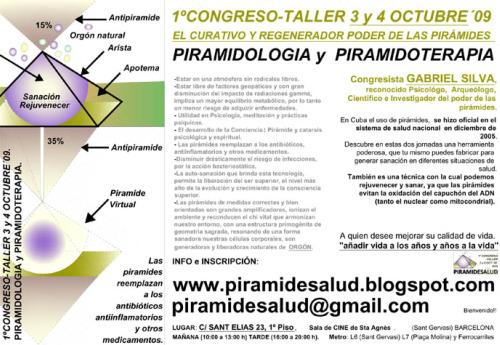piramide21 - Taller de Piramidología y Piramidoterapia en Barcelona el 3 y 4 de octubre del 2009