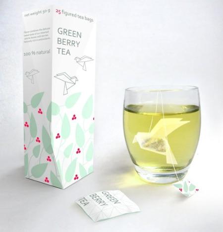 te con formas - origami tea