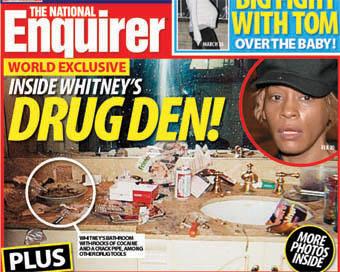 whitney houston drug den - Whitney Houston: se puede salir del infierno