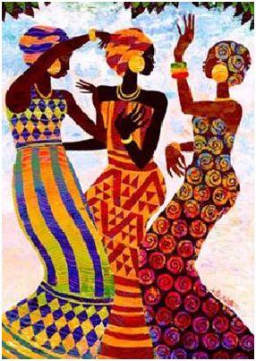 cultura africana2 - Cultura africana: mujeres, crianza y arte