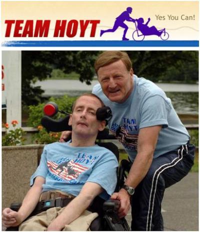 hoyt - TEAM HOYT: un padre jubilado y un hijo con parálisis que dan una lección al mundo
