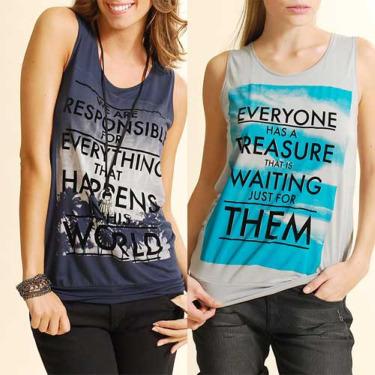 mango1 - Camisetas de Mango con citas de Paulo Coelho