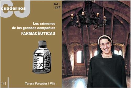"""teresa forcades - CAMPANAS POR LA GRIPE A. Vídeo de 50' y entrevista impresa a la monja y médica Teresa Forcades: """"Es absurdo lo que se hace con la gripe A"""""""