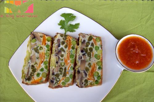 tortilla horno portada - tortilla de verduras al horno