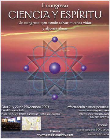 congreso ciencia portada - Impresiones y resumen del II Congreso Ciencia y Espíritu del 21 y 22 de noviembre 2009