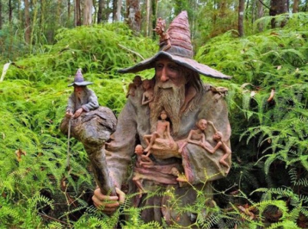 escultura - El Bosque Encantado de Bruno Torfs