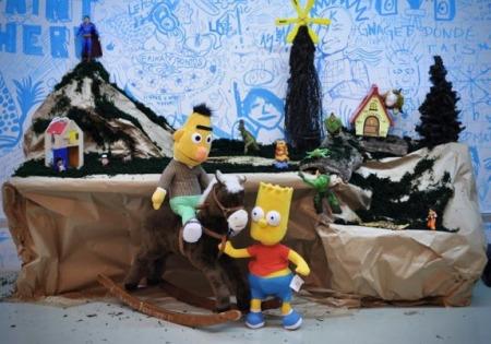 great pesebre - THE GREAT PESEBRE, un Pesebre de niños grandes, para una causa Great. Campaña de recogida de juguetes en Barcelona hasta el 22 de Diciembre