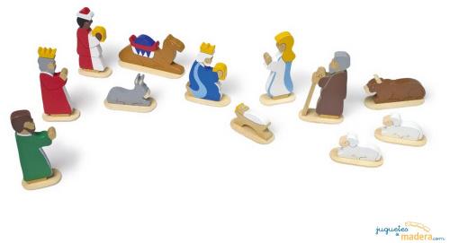 belen de madera - ERE en el Portal de Belén: humor navideño en tiempos de crisis