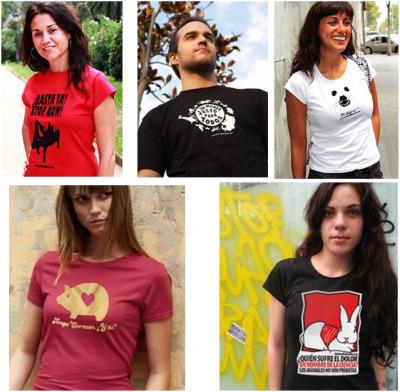 camisetas animales2 - Camisetas que ayudan a los animales