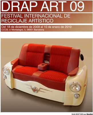 drap art 09 - DRAP ART 09 - Festival Internacional de Reciclaje Artístico del 18 de diciembre 2009 al 10 de enero de 2010 en Barcelona
