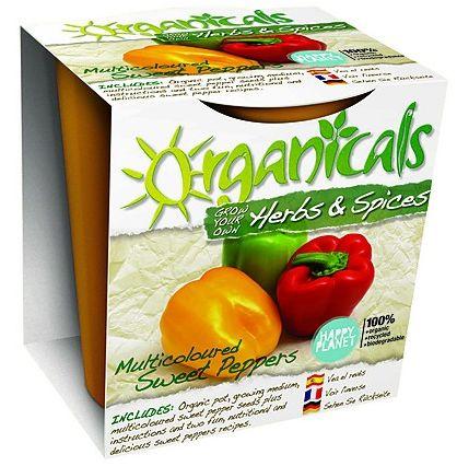 Organicals kit botanico pimientos multicolores