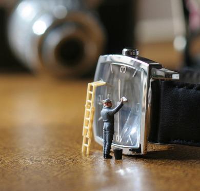 reloj pequenitos - El valioso tiempo de los maduros