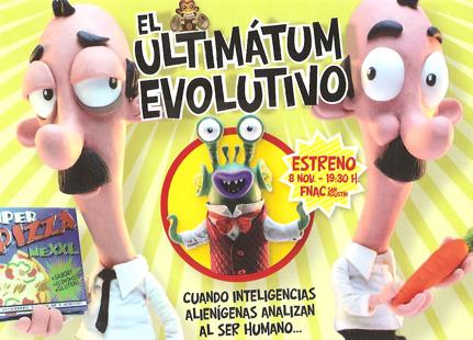 ultimatum evolutivo1 - EL ULTIMÁTUM EVOLUTIVO: excelente corto de animación sobre el homo consumus o el homo responsabilus