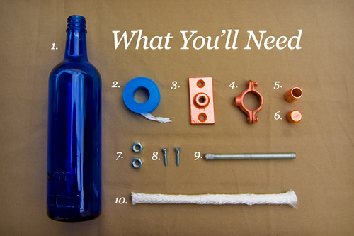 botellas decoración reciclaje