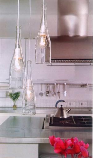 botellas5 - 3 buenas ideas para reutilizar y decorar con botellas