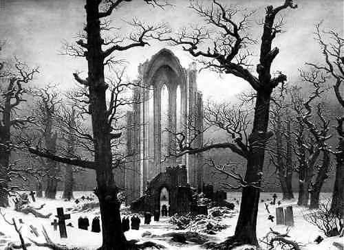 caspar david friedrich - Die_Winterreise