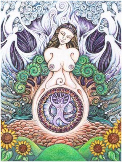diosa - despertar de la diosa