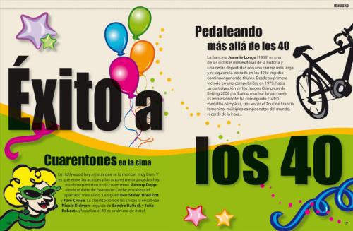 felicidades 40 paginas interiores - felicidades 40 paginas interiores