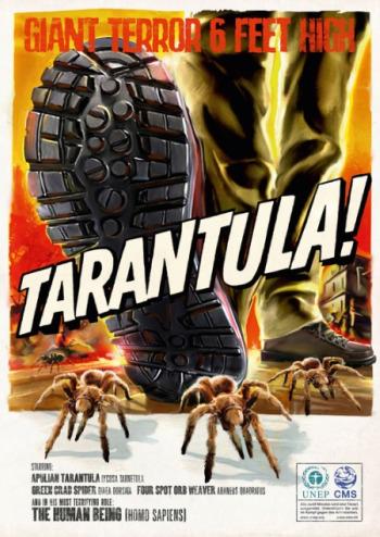 humanos monstruos tarantula