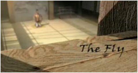 mosca - The Fly: la meditación de la mosca. Calma en el caos