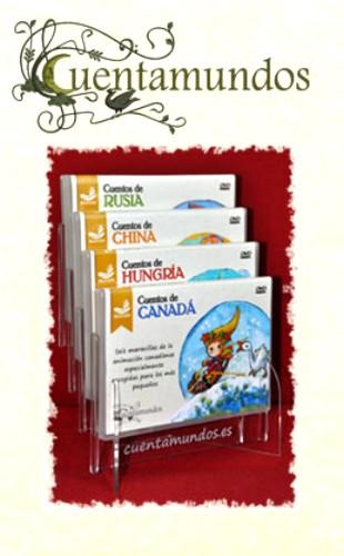 cuentamundos2 - CUENTAMUNDOS: una alternativa en el mundo de la animación infantil. Leyendas y cuentos en DVD realizados de forma artesanal