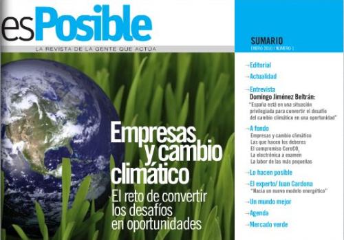 esposible - esPosible: nueva revista digital especializada en desarrollo sostenible