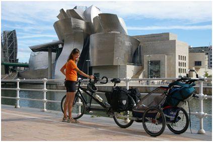 familia7 - Bicicleta y lactancia en tándem y a viajar en familia por el mundo