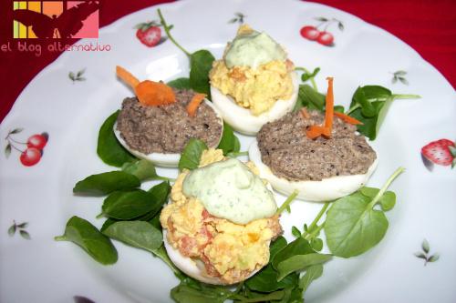 huevos2 - huevos rellenos vegetarianos