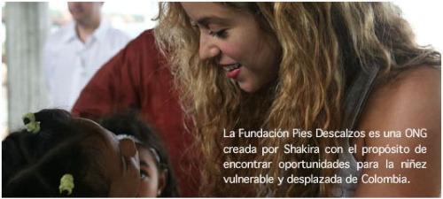 """shakira - SHAKIRA, la Fundación Pies Descalzos y su solidario discurso en Oxford: """"El destino de los niños puede cambiar"""""""
