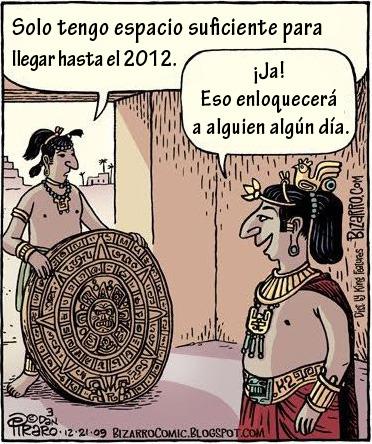 2012 - Humor: a vueltas con los mayas