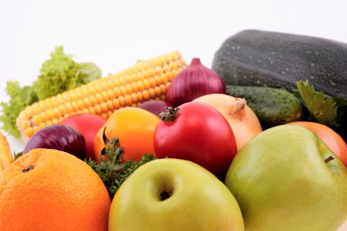 elegir frutas y vegetales
