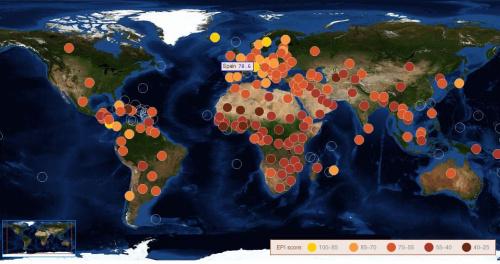 EPI 2010 Mapa