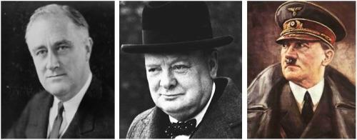 hitler - ¿Cuál de estos 3 líderes es mejor?: cuando las apariencias engañan