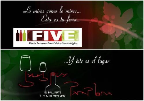 vino - feria internacional del vino ecologico