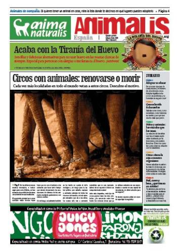 animalis - ANIMALIS nº 6: periódico en pdf a favor de los animales