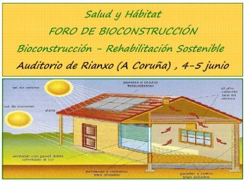 curso - foro bioconstrucción a coruña 2010