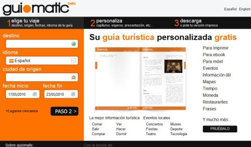 guiomatic - Guía de viaje personalizada y gratuita