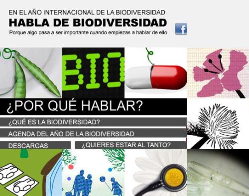 Habla de Biodiversidad
