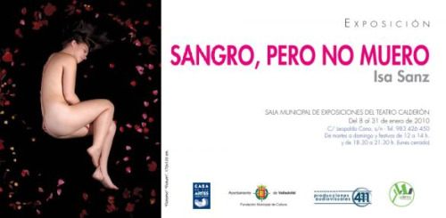 isa8 - SANGRO, PERO NO MUERO: la nueva mirada a la menstruación
