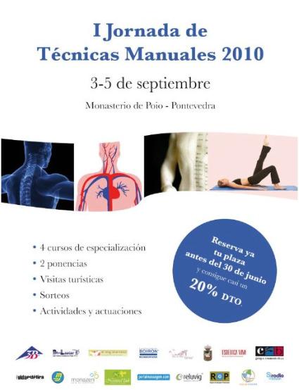 jornadas1 - I Jornadas de Técnicas Manuales: Pontevedra, 3-5 de septiembre 2010
