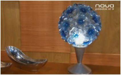 lampara - Cómo hacer lámparas con botellas de plástico