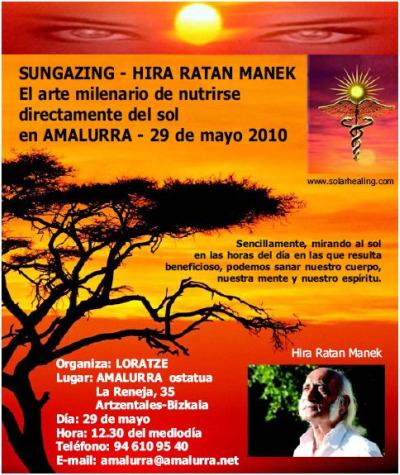 sol1 - Hira Ratan Manek en Vizcaya el 29 de mayo del 2010