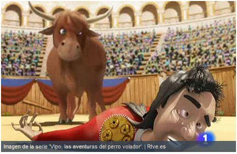 vipo dibujos animados anti taurinos