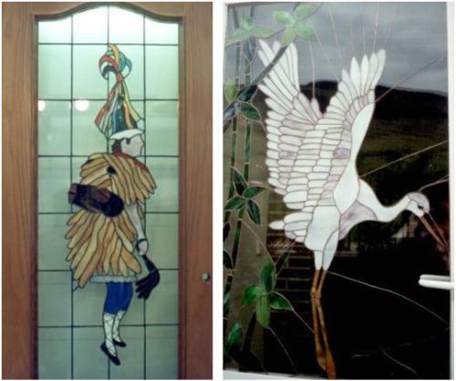 vidrio2 - Arte en vidrio reciclado de Agustín Aguirre